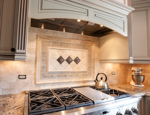 Kitchen remodeling with custom kitchen hood